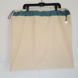 Tory Burch off-white dustbag